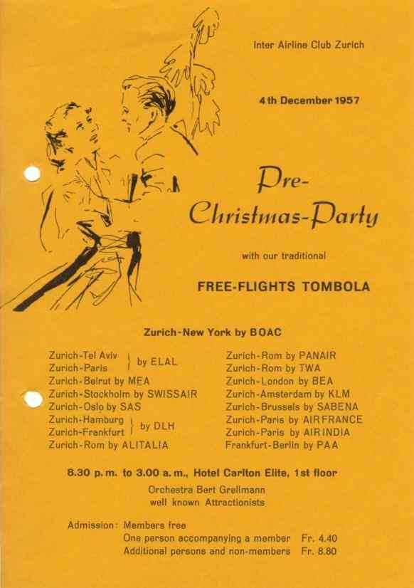 Pre-Christmas-Party 1957